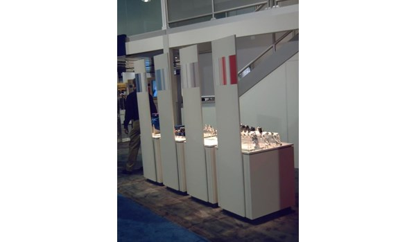 MOD014 - Custom Trade Show Exhibit for Manufacturing